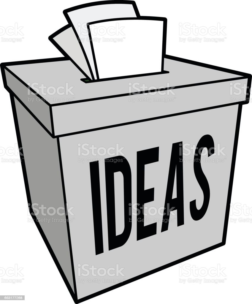 Suggestion Box Clip Art Vector Images Amp Illustrations