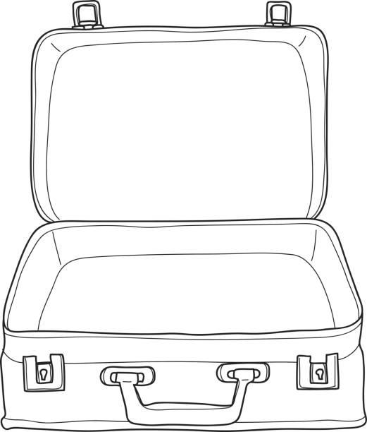 Open Koffer Kleurplaat Open Koffer Kleurplaat Kleurplaat ...