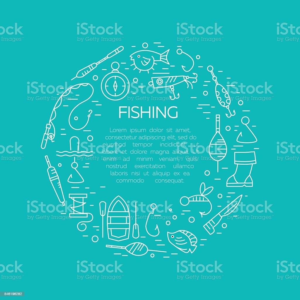 Summer activity vector icons vector art illustration