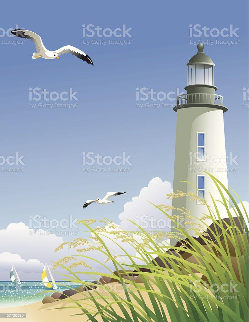 Summer at the Beach royalty-free stock vector art