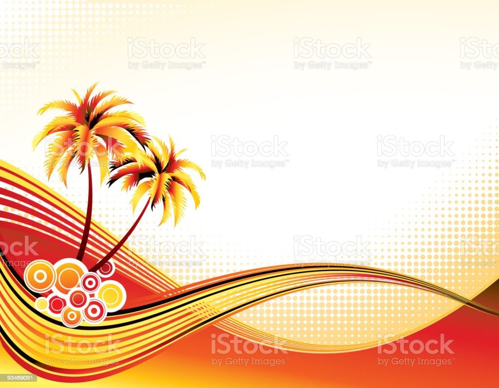 Summer background royalty-free stock vector art