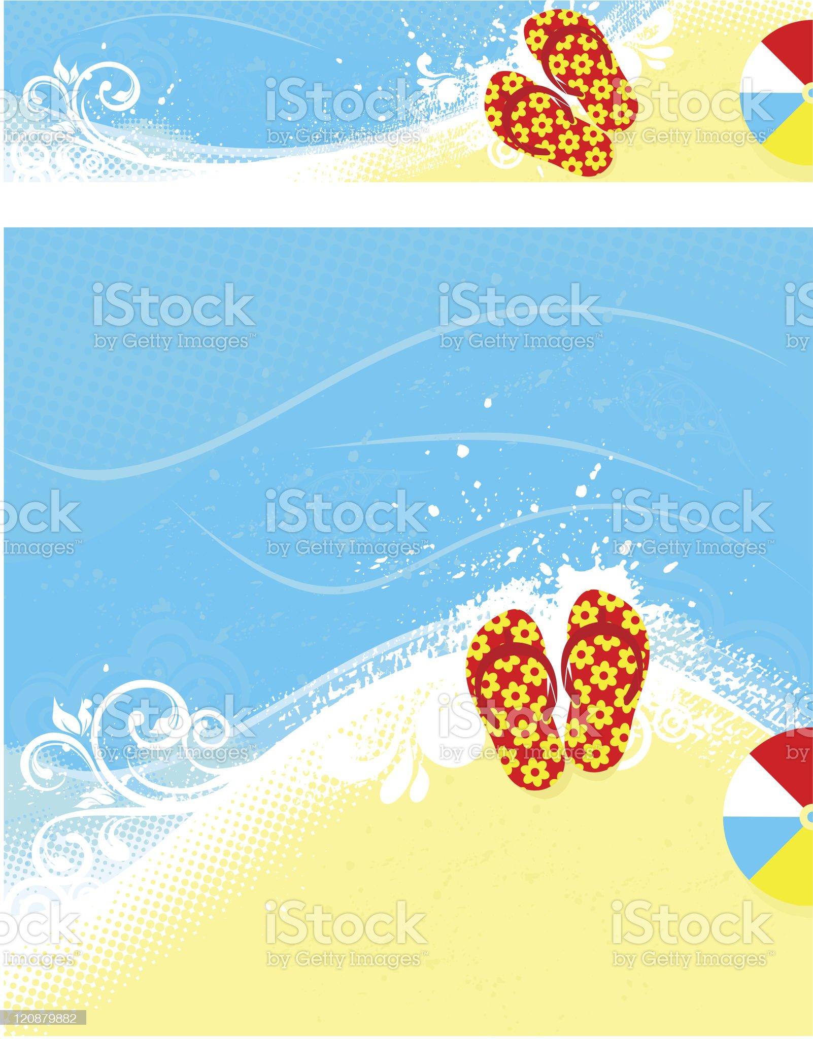 Summer banners set royalty-free stock vector art