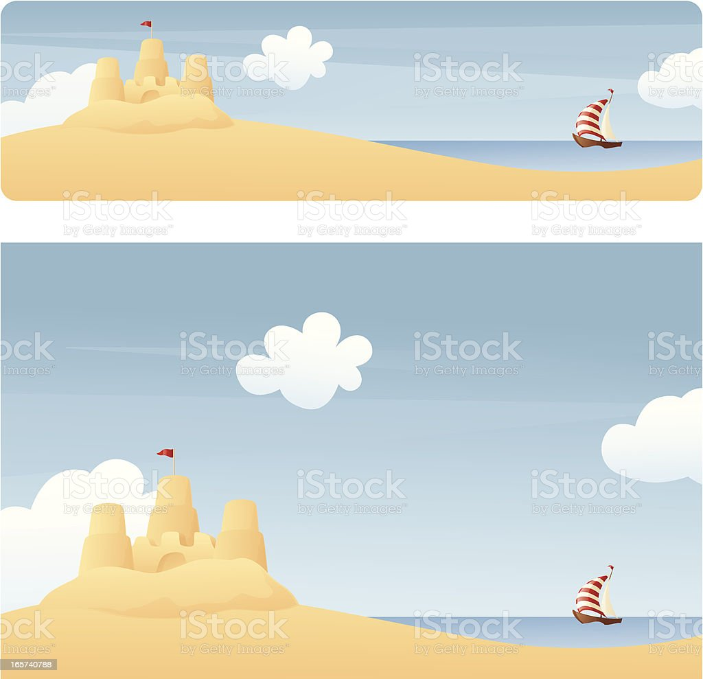 Summer Banners royalty-free stock vector art