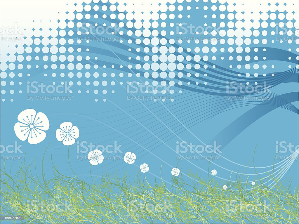 Summer Breeze royalty-free stock vector art