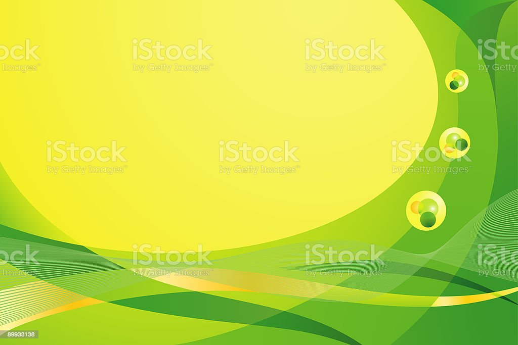 Summer Bubbly background royalty-free stock vector art