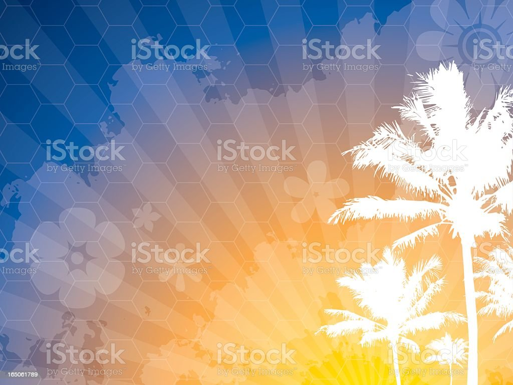 Summer Colors Background royalty-free stock vector art