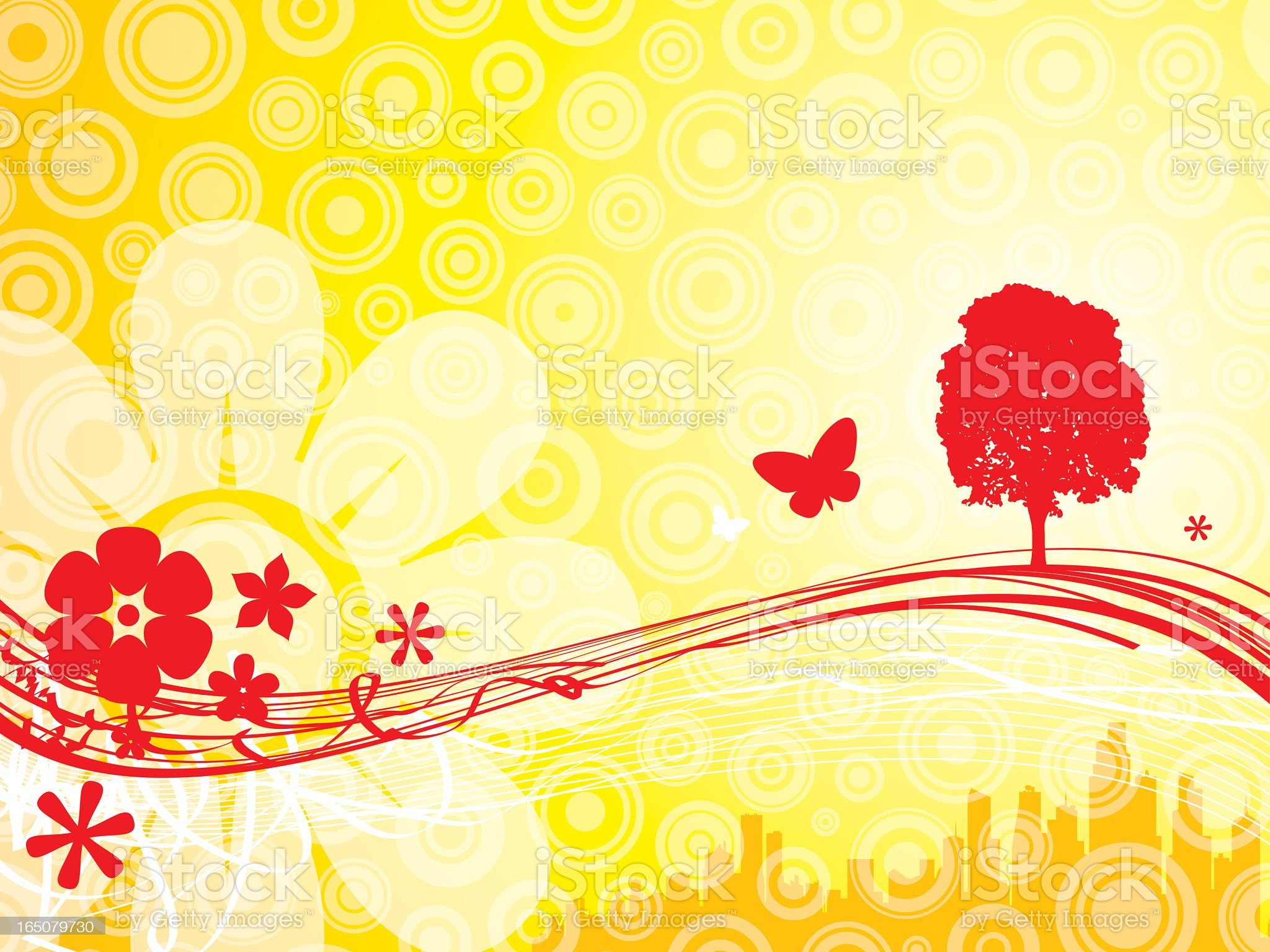 Summer - Country royalty-free stock vector art