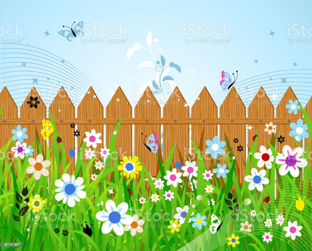 Summer day royalty-free stock vector art