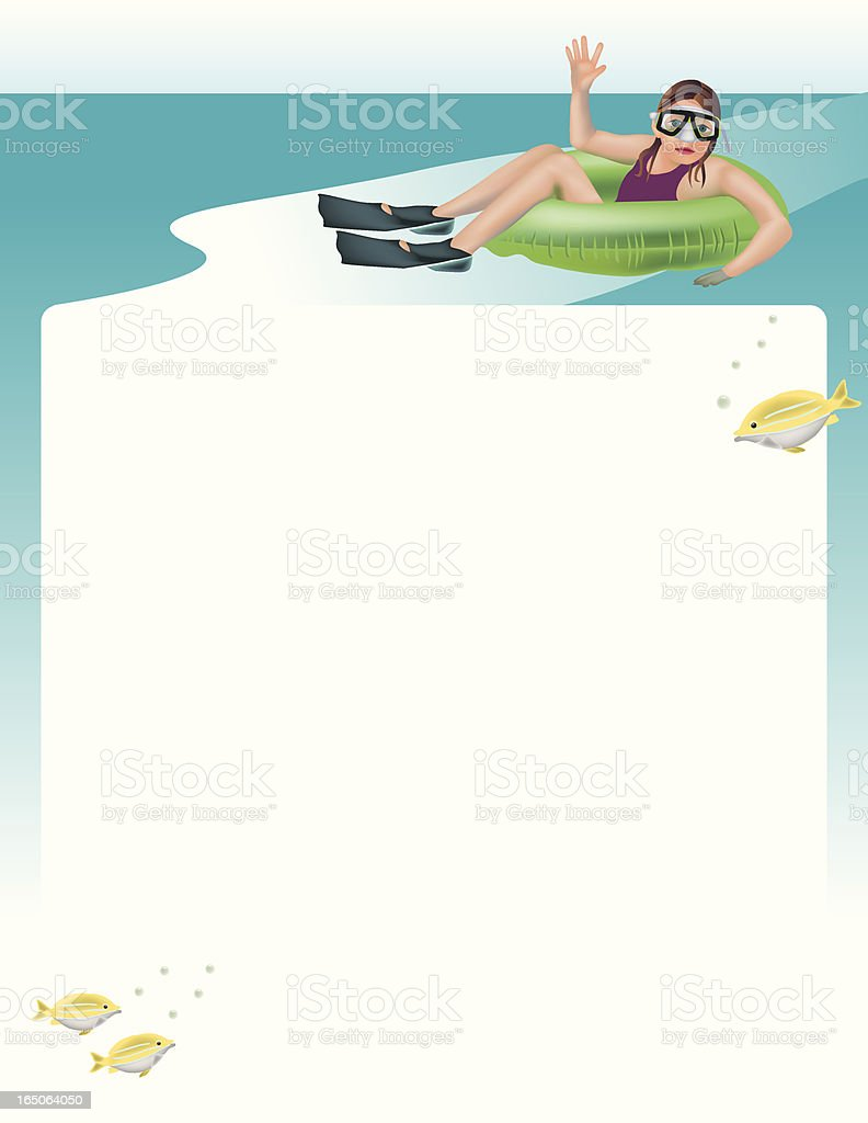 Summer Fun Flier vector art illustration