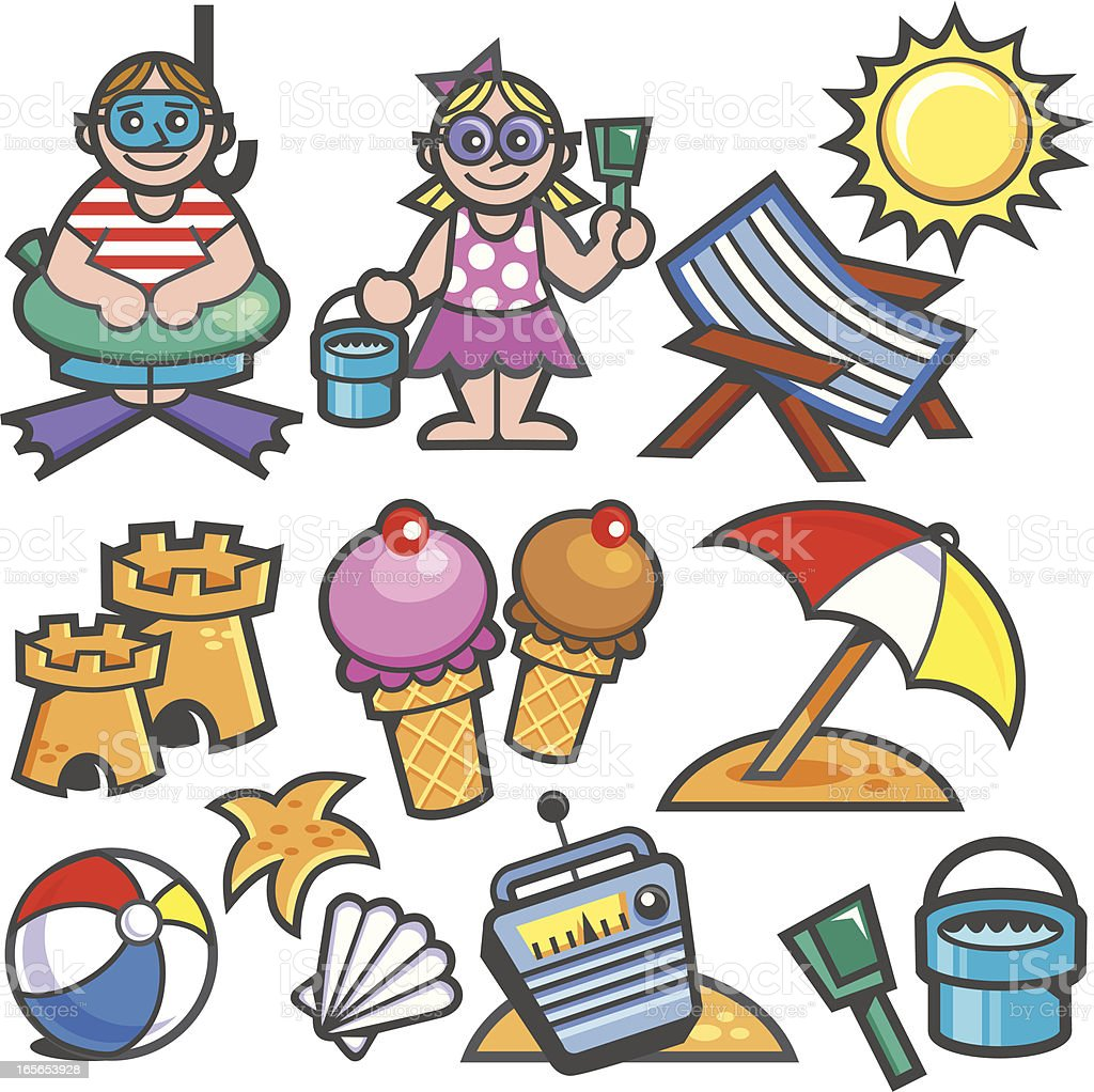 summer fun! royalty-free stock vector art
