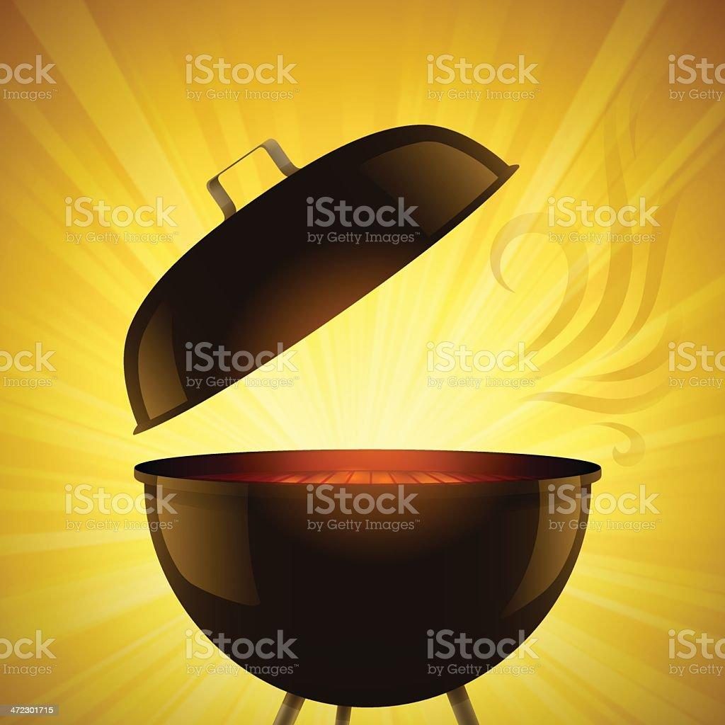 Summer Grilling royalty-free stock vector art