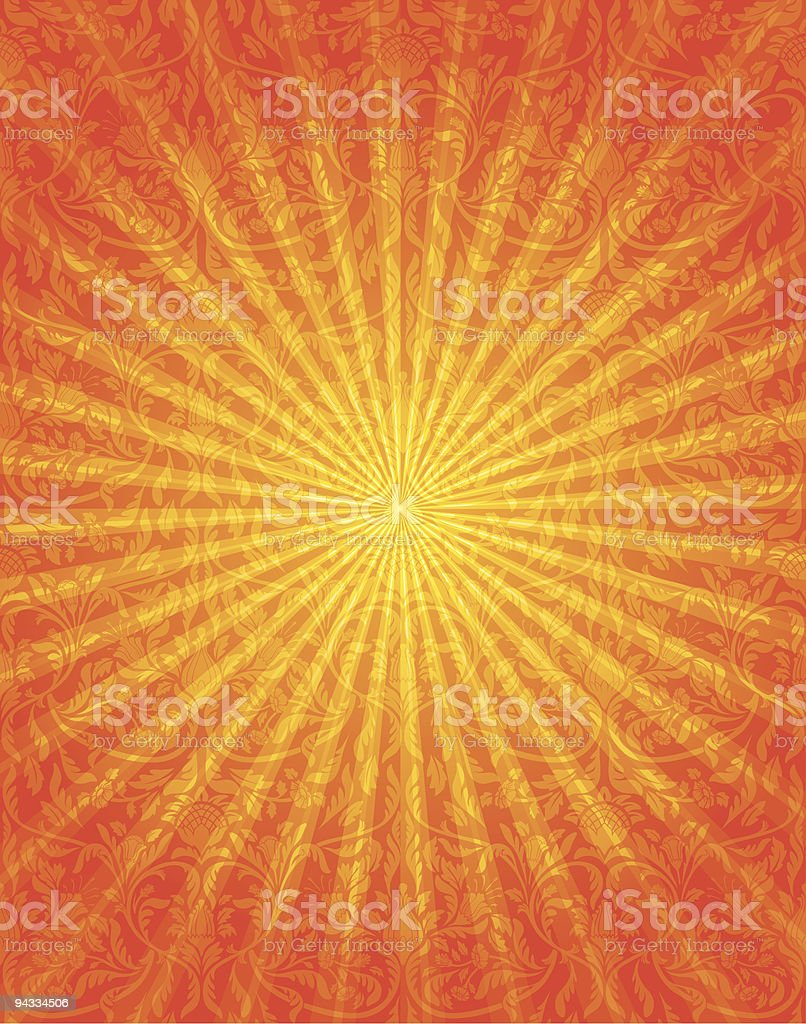 Summer Heat royalty-free stock vector art