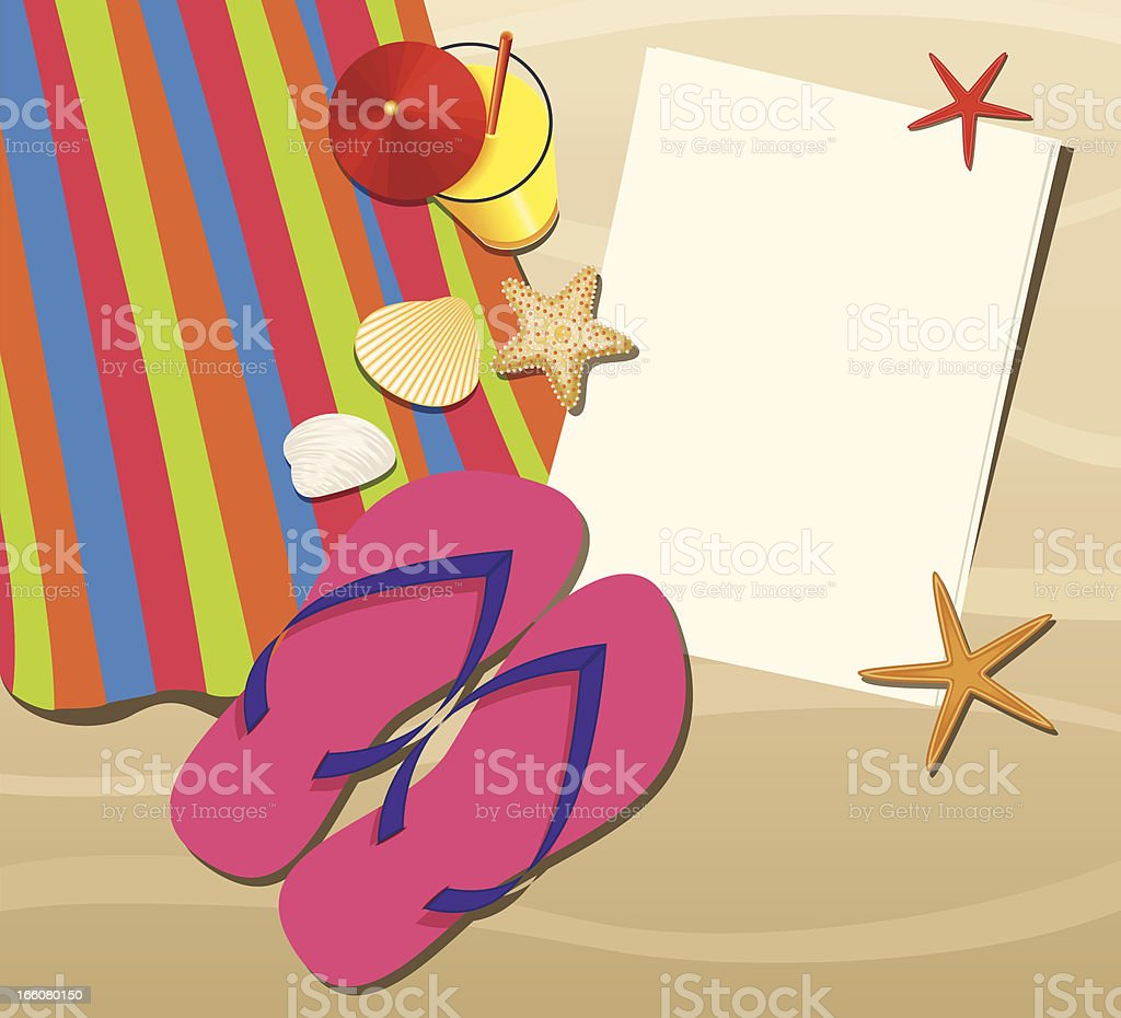 Summer Holiday vector art illustration