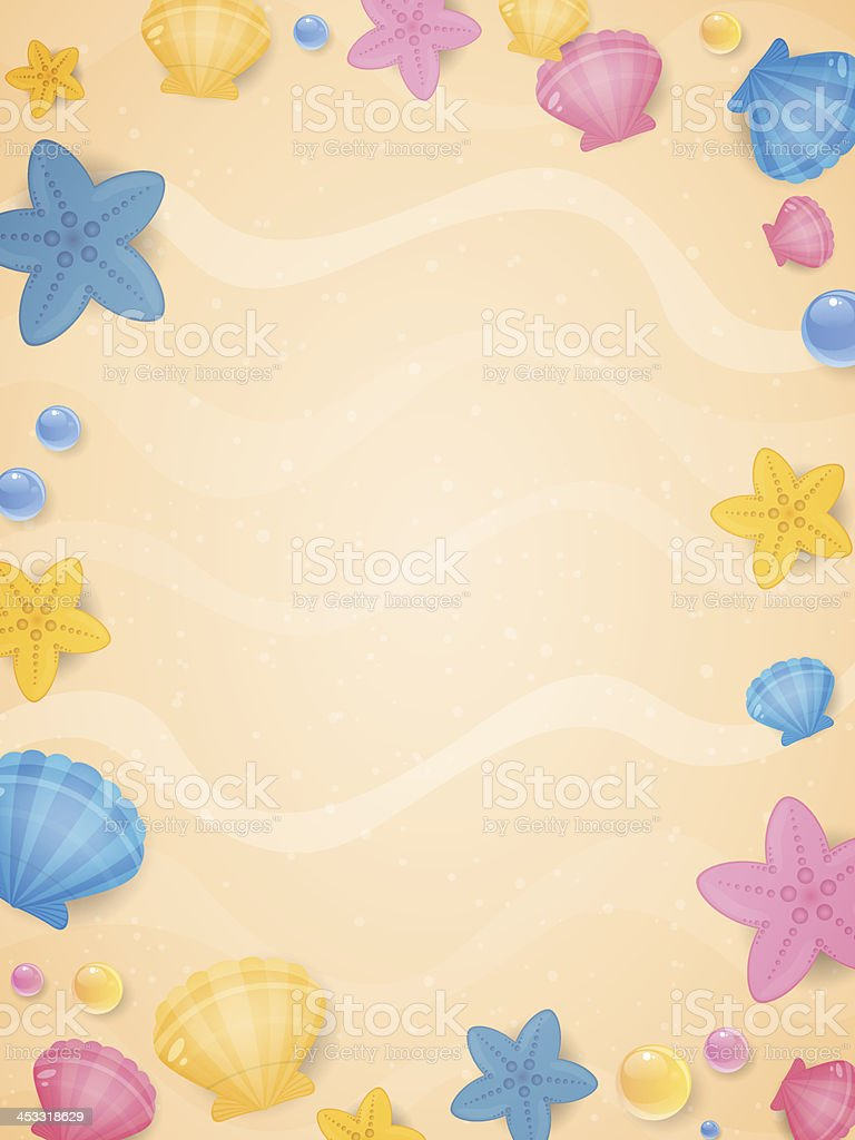 Summer holidays royalty-free stock vector art