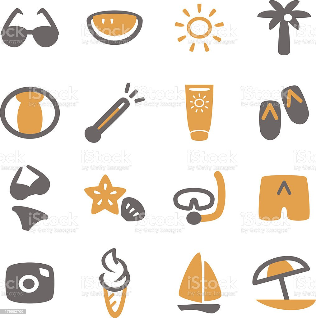 Summer Icon royalty-free stock vector art
