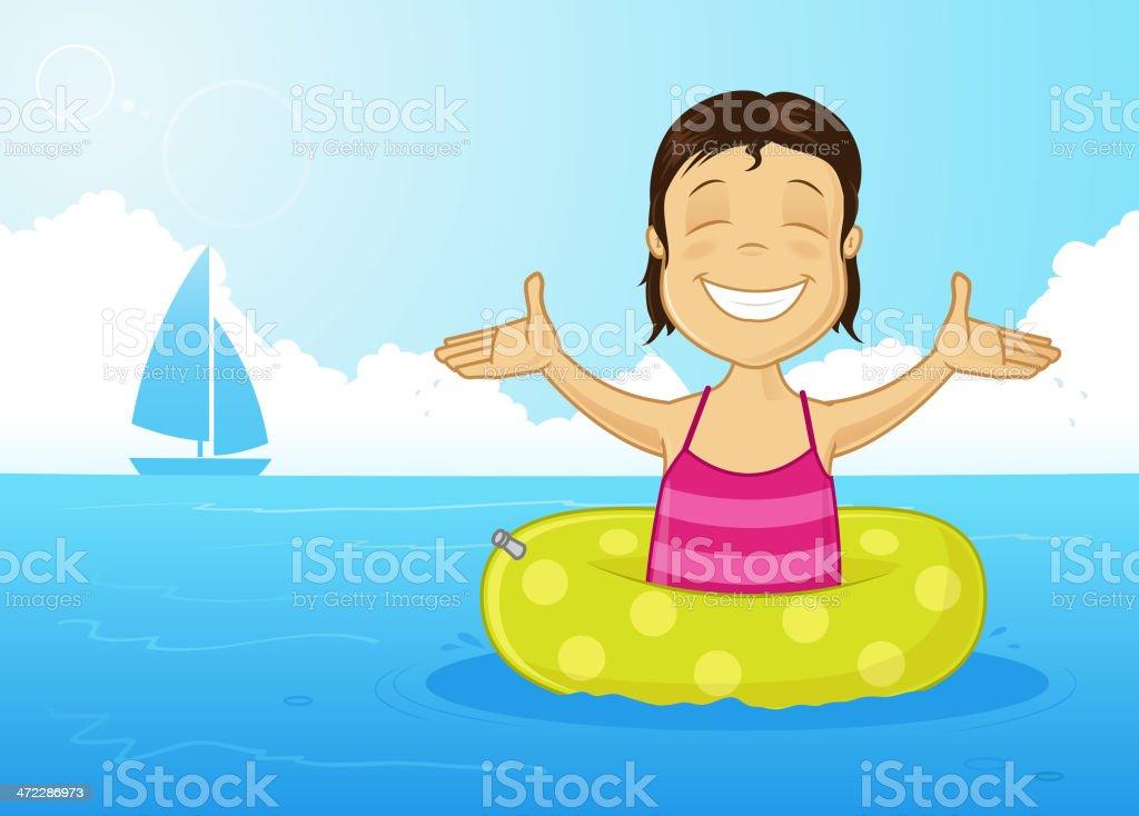 Summer joy royalty-free stock vector art