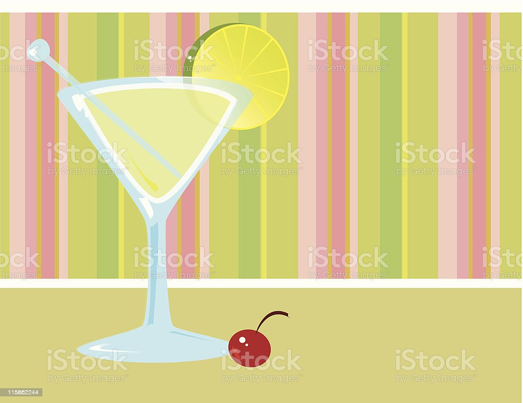 Summer Lounge royalty-free stock vector art
