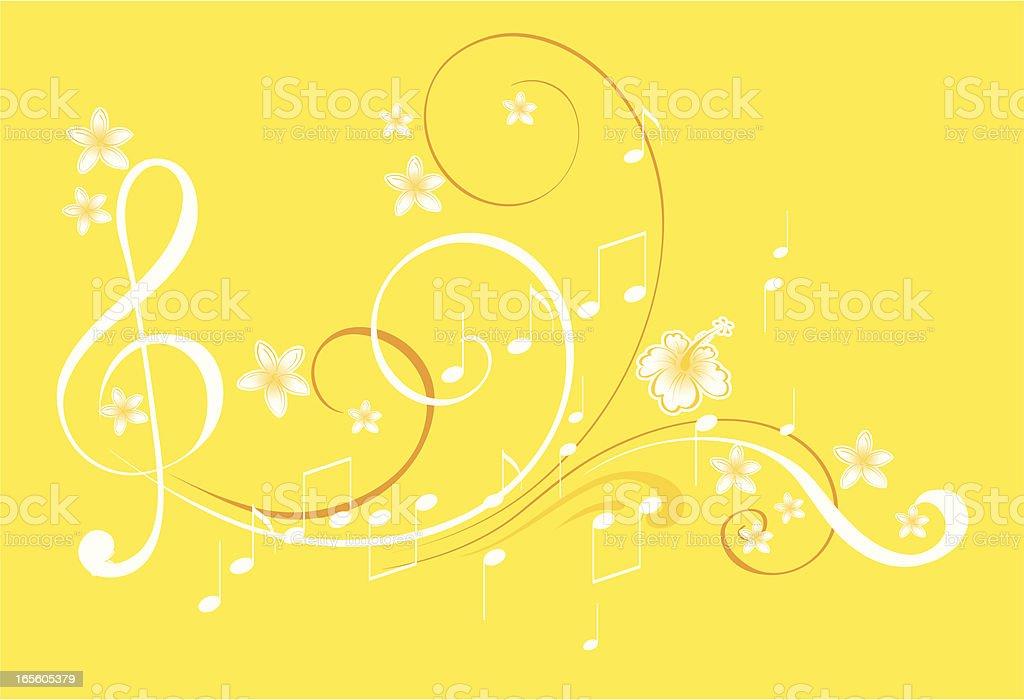 Summer music royalty-free stock vector art