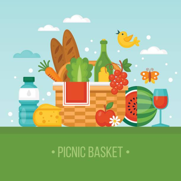 spring picnic clipart - photo #45
