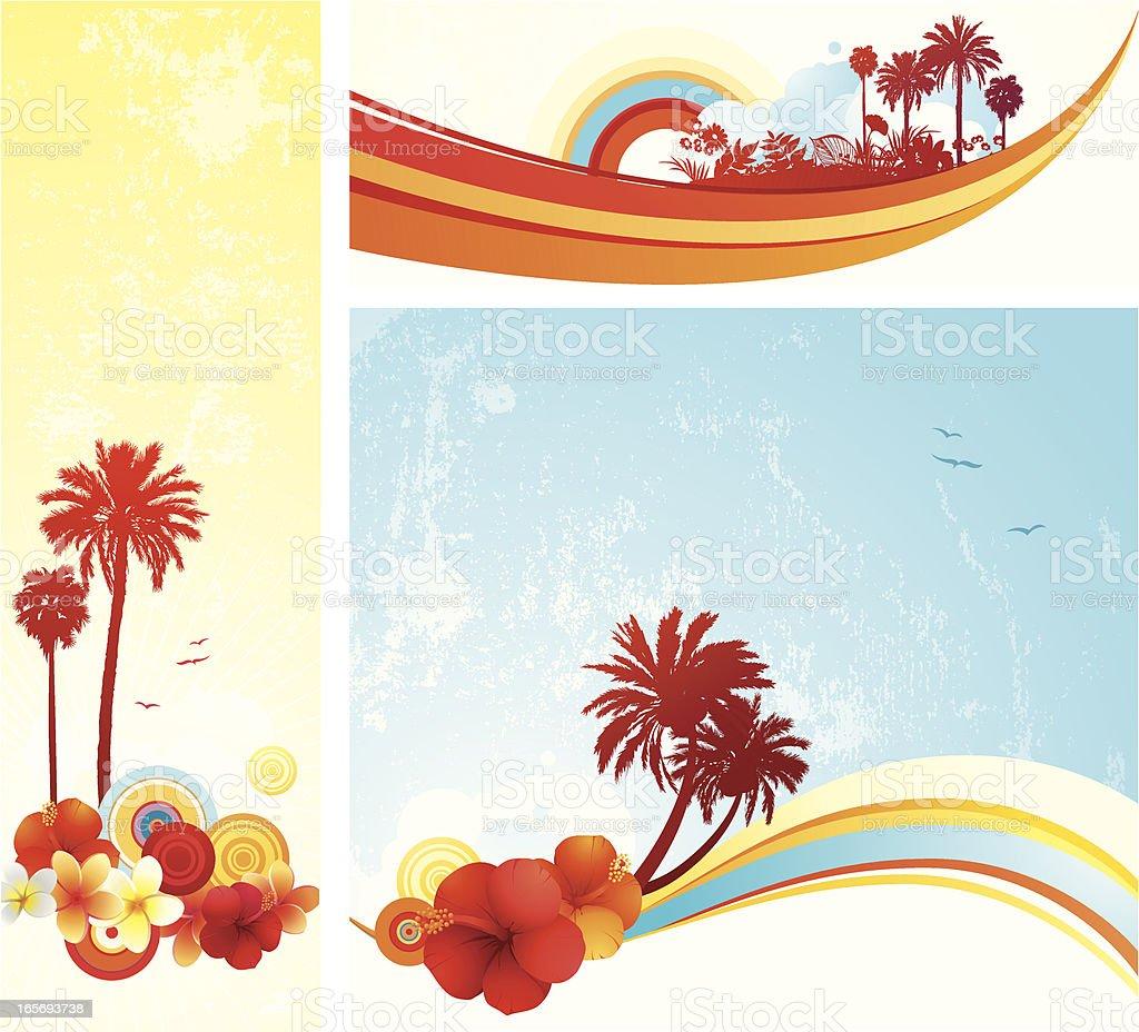 Summer Set royalty-free stock vector art