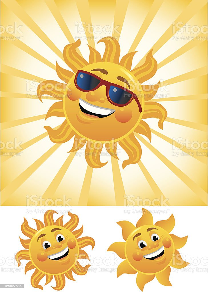 Summer Sun royalty-free stock vector art