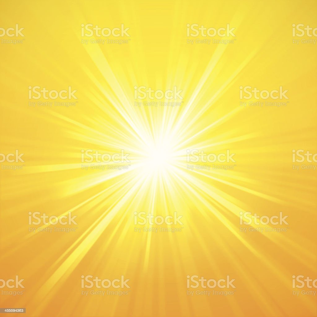 Summer Sunburst vector art illustration