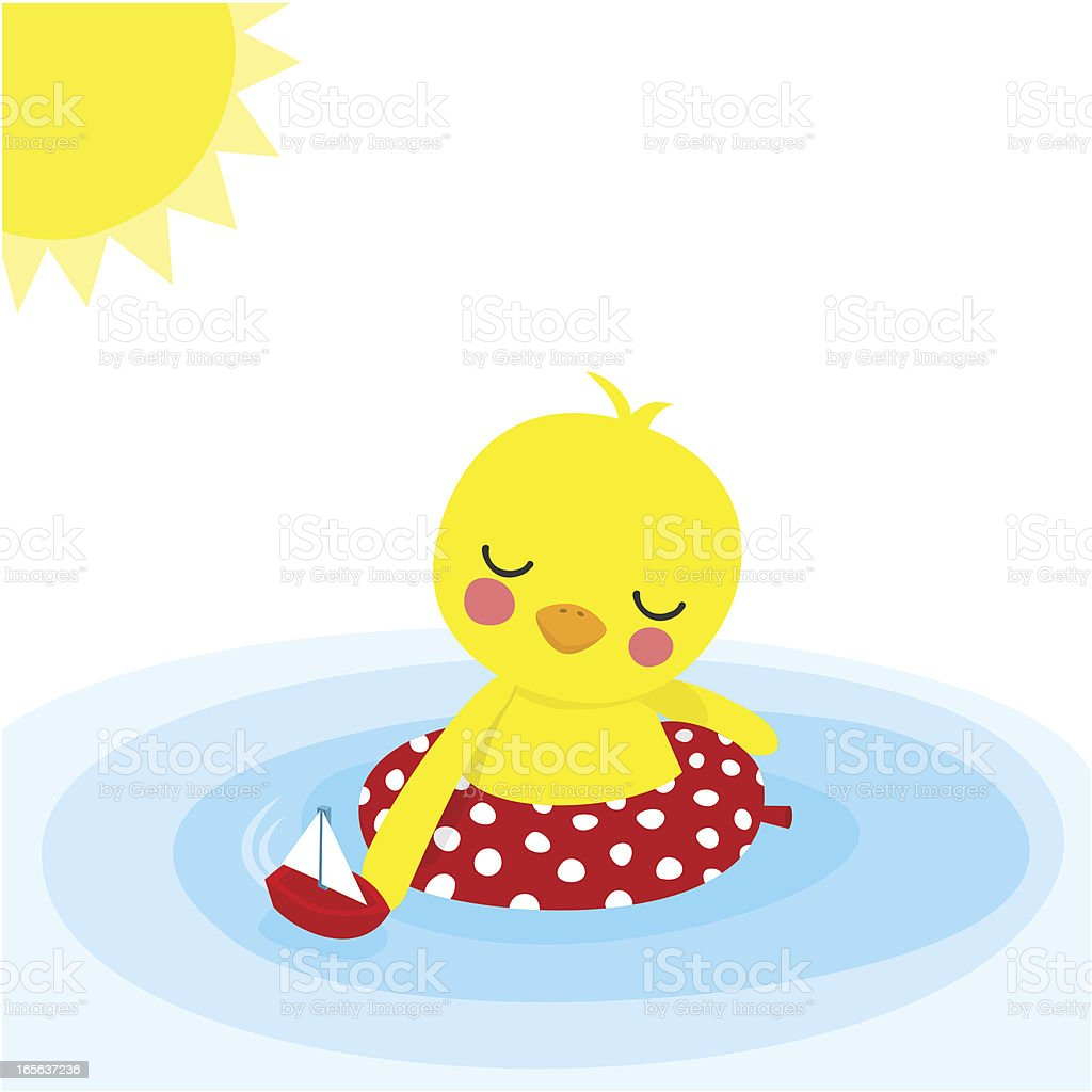 Summer time royalty-free stock vector art