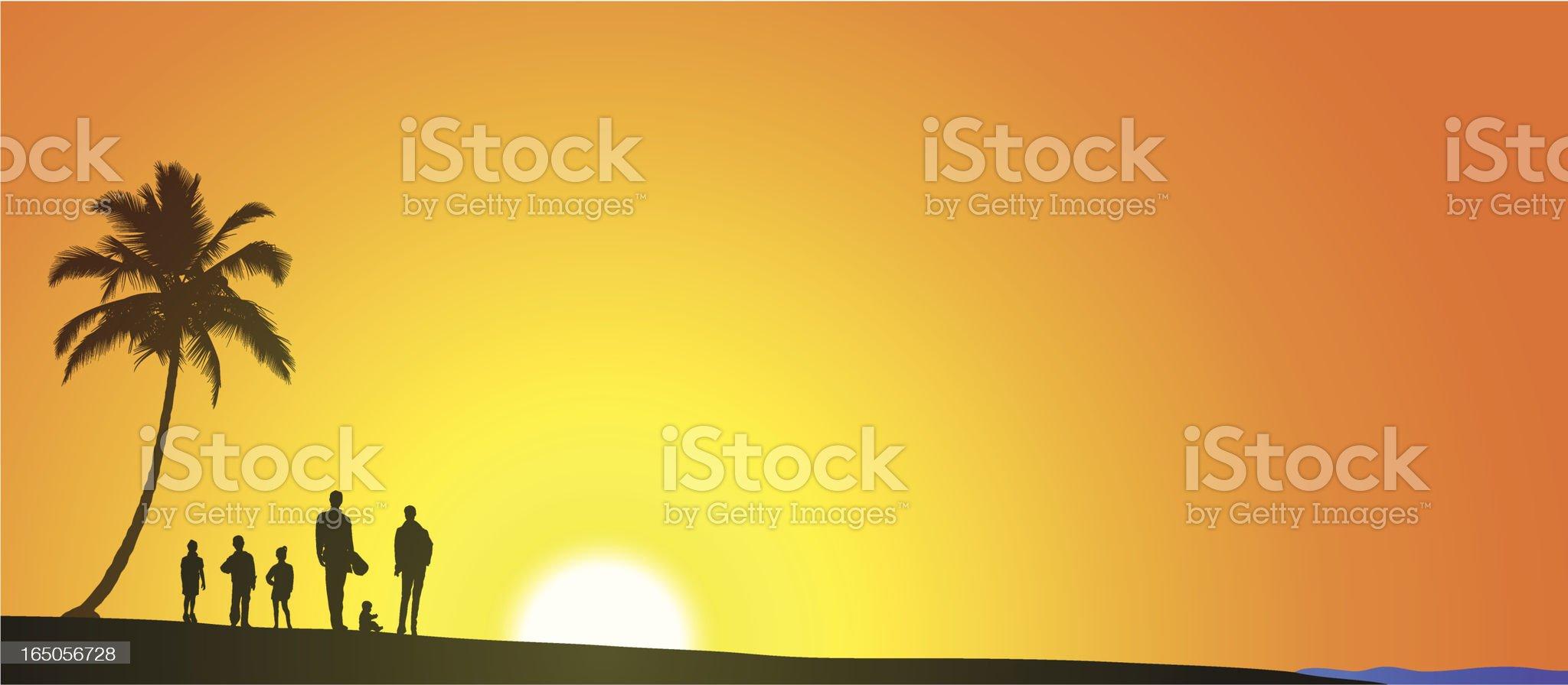 Summer Vacation royalty-free stock vector art
