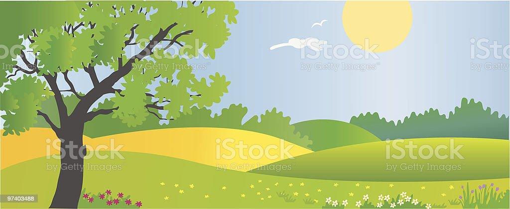 Summer royalty-free stock vector art