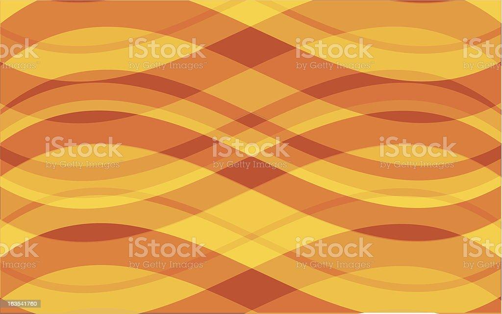Summer waves royalty-free stock vector art