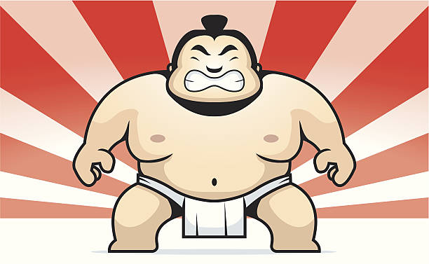 Sumo Wrestling Clip Art, Vector Images & Illustrations - iStock