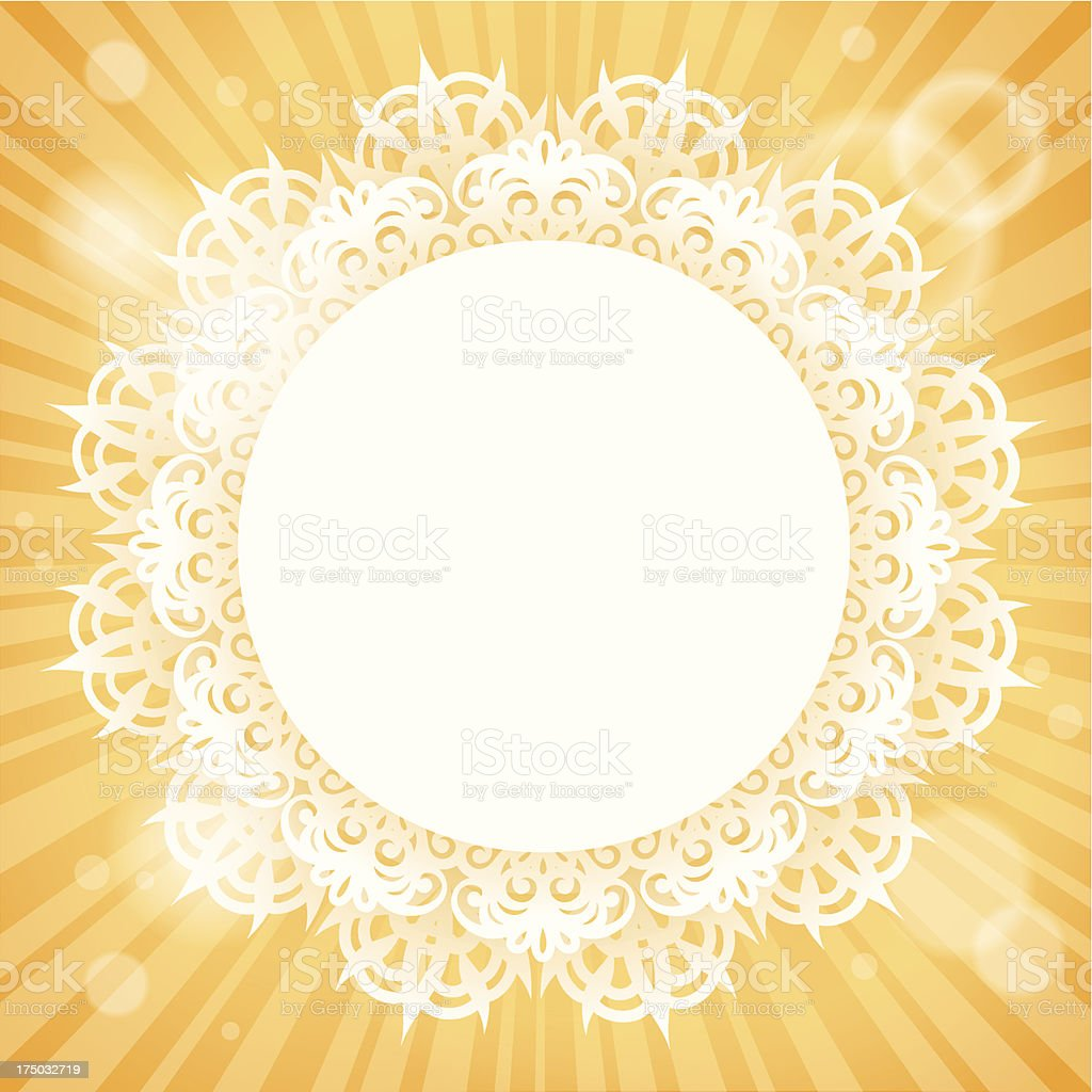 Sun Background royalty-free stock vector art
