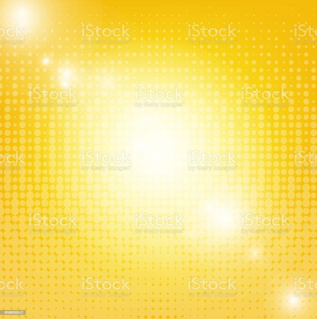 Sun Background With Blur vector art illustration