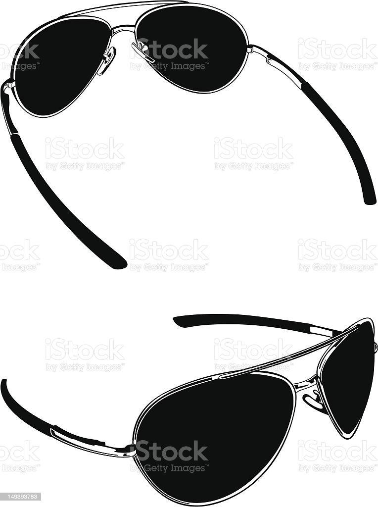 Sun Glasses royalty-free stock vector art