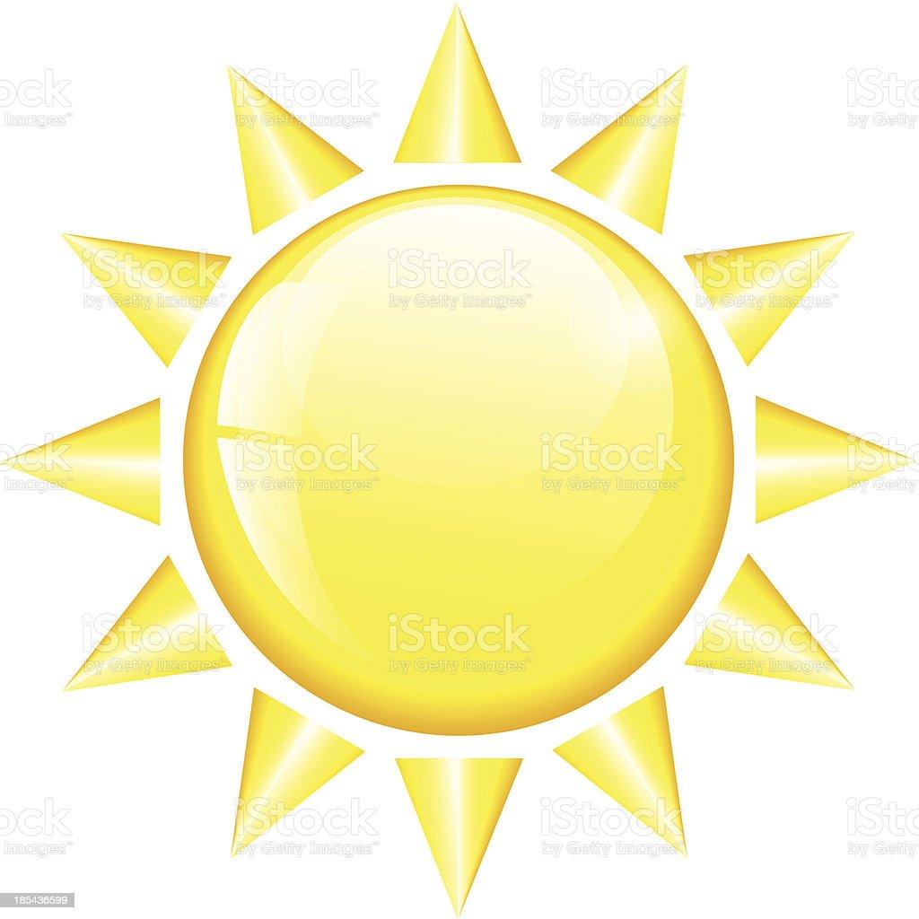 Sun Icon royalty-free stock vector art