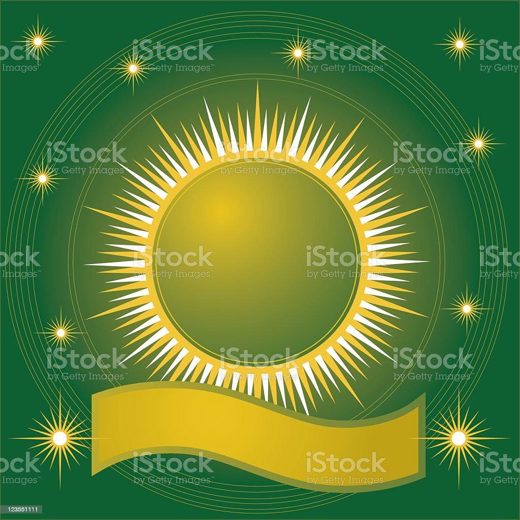 Sun Motif royalty-free stock vector art