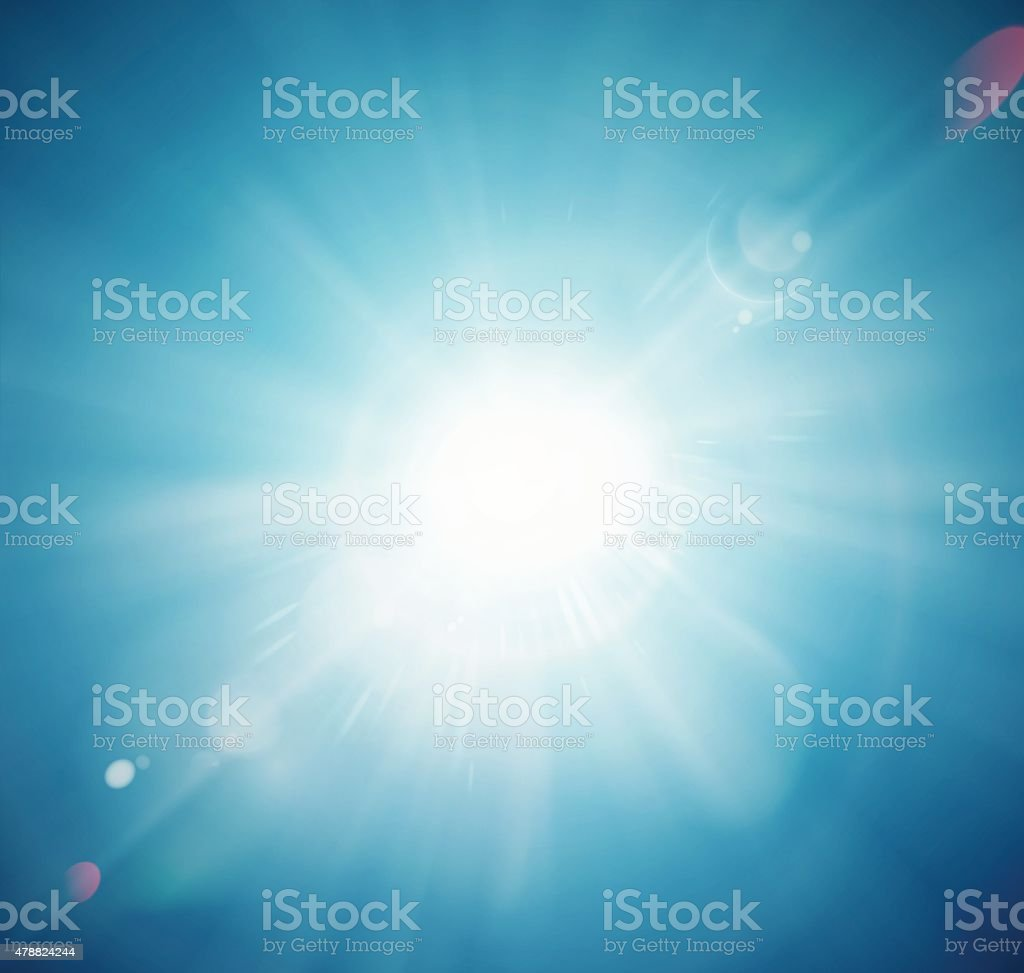 Sun Shine vector art illustration