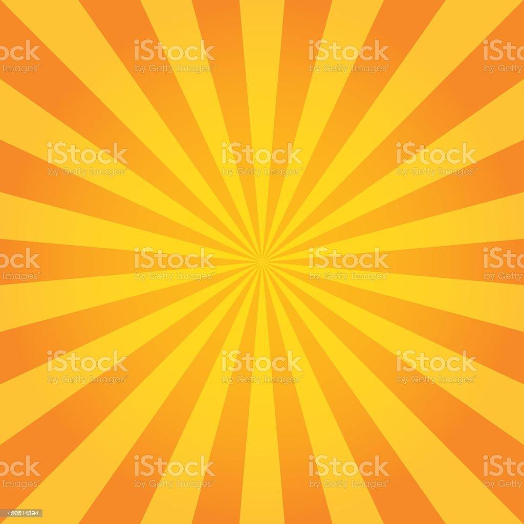 Sun Sunburst Pattern. Retro Background vector art illustration