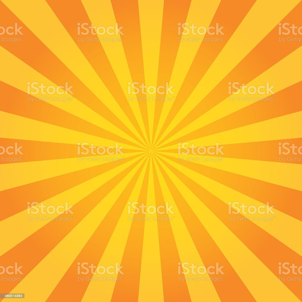 Sun Sunburst Pattern. Retro Background vector art illustration