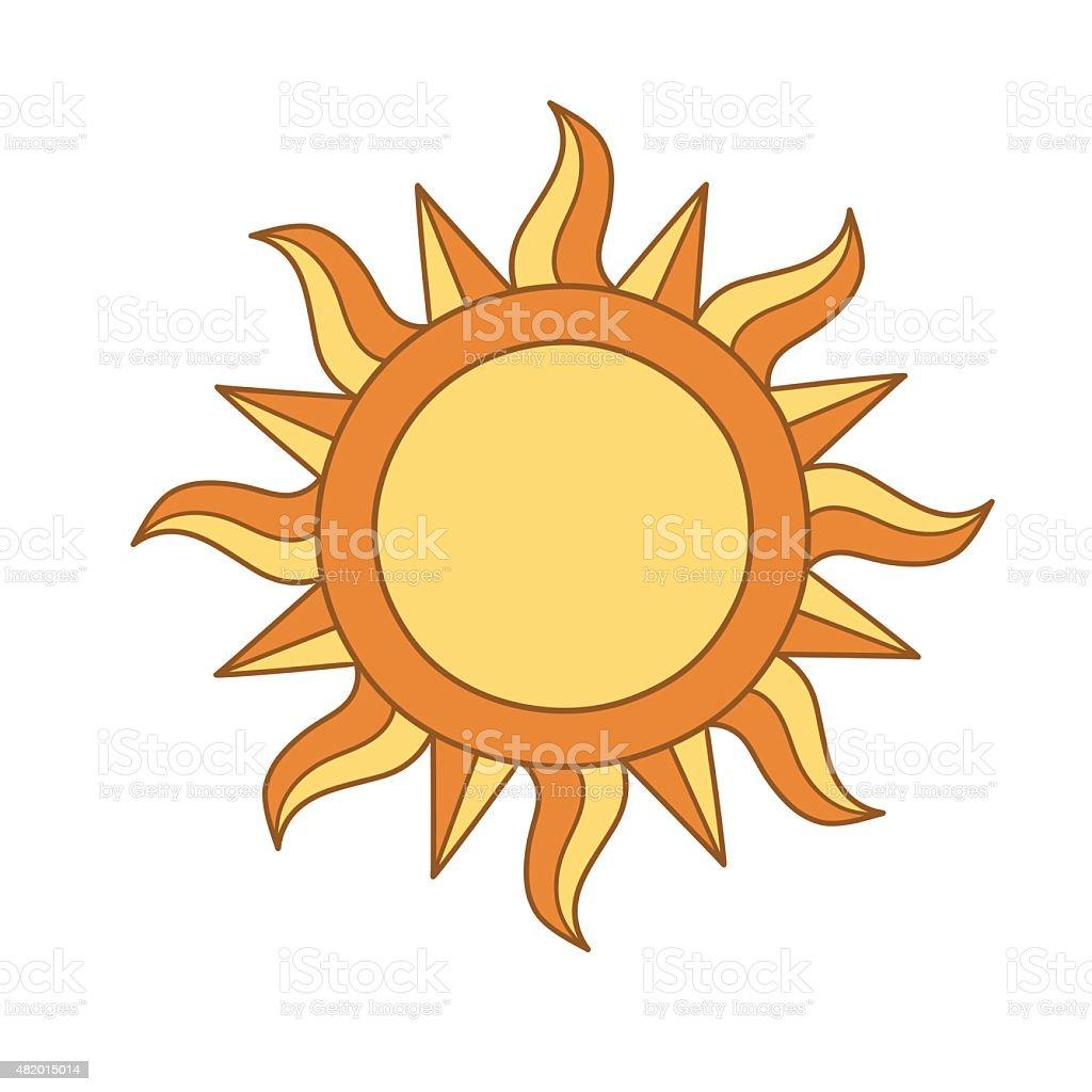 Sun symbol stock vector art 482015014 istock sun symbol royalty free stock vector art buycottarizona Images
