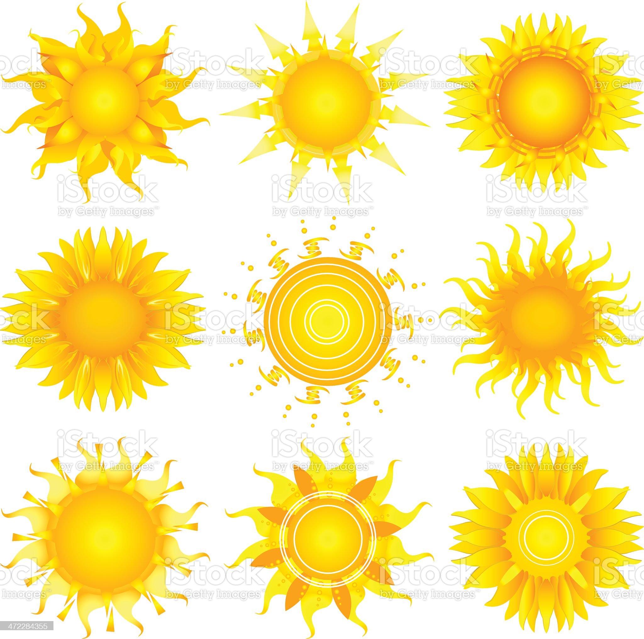 sun royalty-free stock vector art