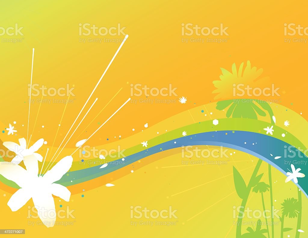 Sun Wave [vector] royalty-free stock vector art