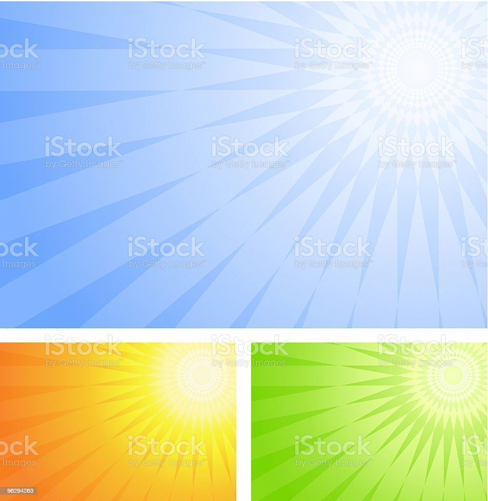 sun_background royalty-free stock vector art