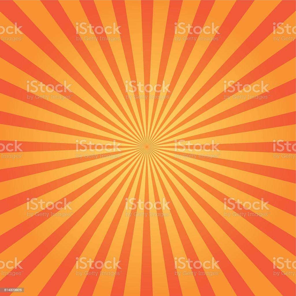 Sunbeam background vector art illustration