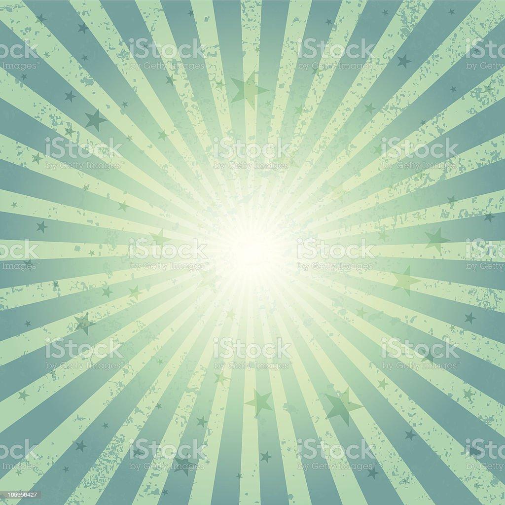 Sunbeam & Star royalty-free stock vector art