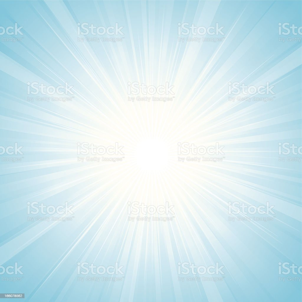 Sunbeam royalty-free stock vector art