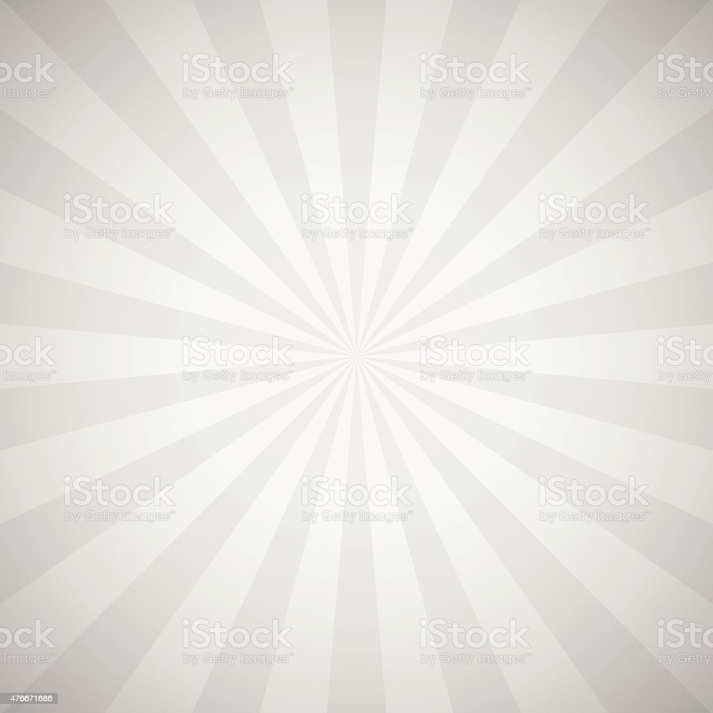 Sunburst gray background illustration vector art illustration