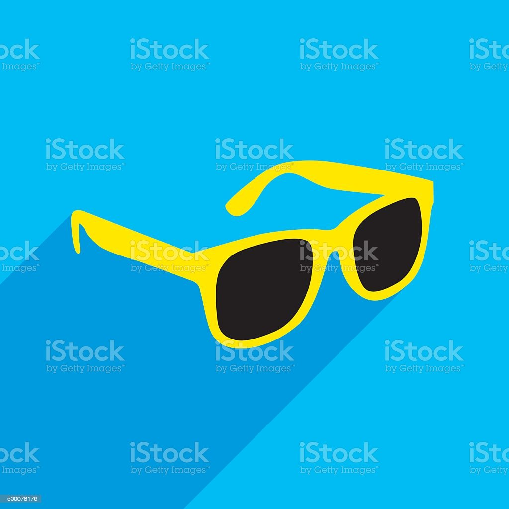 Sunglasses Icon vector art illustration