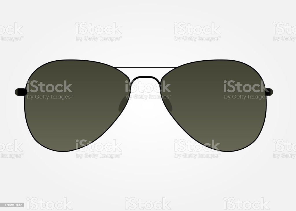 Sunglasses icon vector illustration royalty-free stock vector art