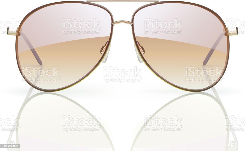 sunglasses vector art illustration